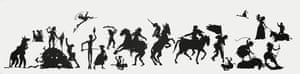 The Jubilant Martyrs of Obsolescence and Ruin, by Kara Walker.