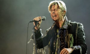 David Bowie, who died this year.