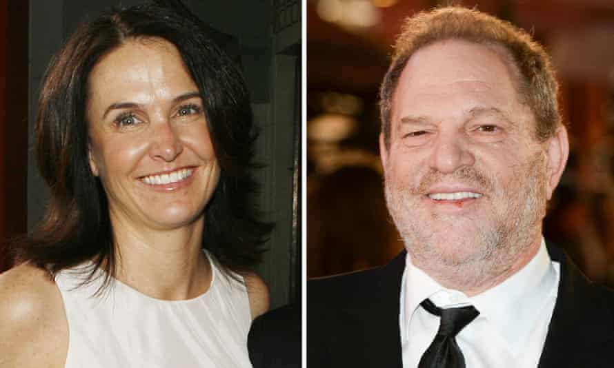 Jill Messick and Harvey Weinstein.
