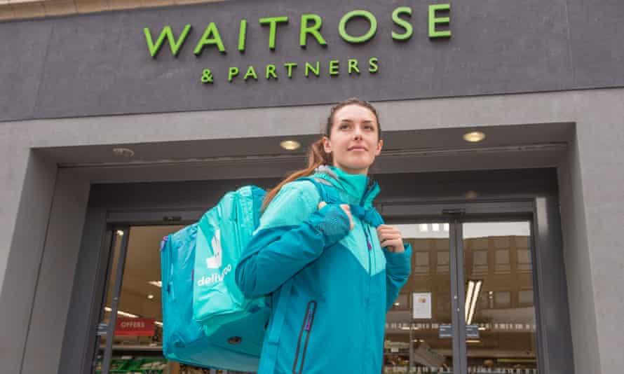 Waitrose and Deliveroo