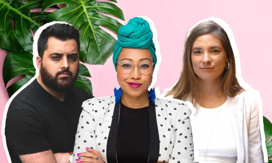 Omar Sakr, Yassmin Abdel-Magied and Evelyn Araluen.