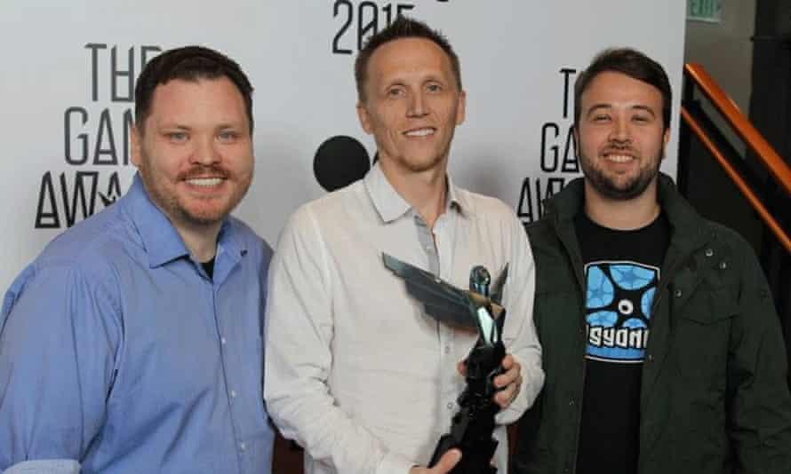 Psynoix founders Jeremy Dunham, Dave Hagewood and Corey Davis