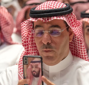Saudi Minister of Culture and Information and president of the Human Rights Commission Awwad Alawwad