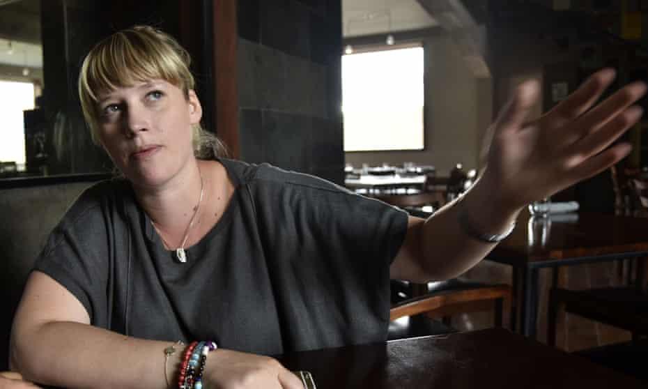 Kamilla Seidler, the young Danish chef who established Gustu in La Paz, Bolivia.
