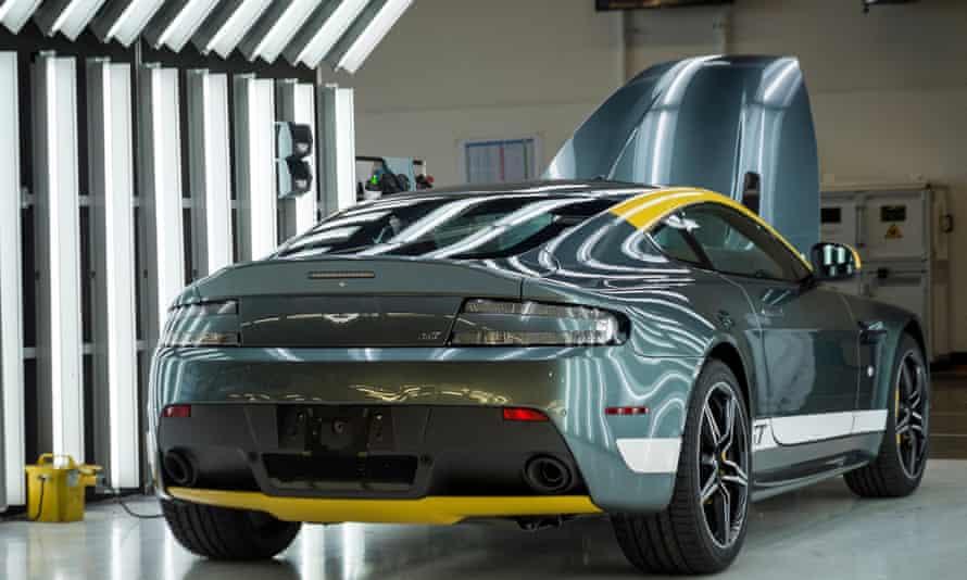 Aston Martin factory, Gaydon.