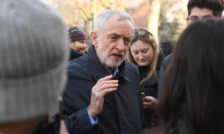 The document appears to be an attempt to pile pressure on Corbyn over Brexit.