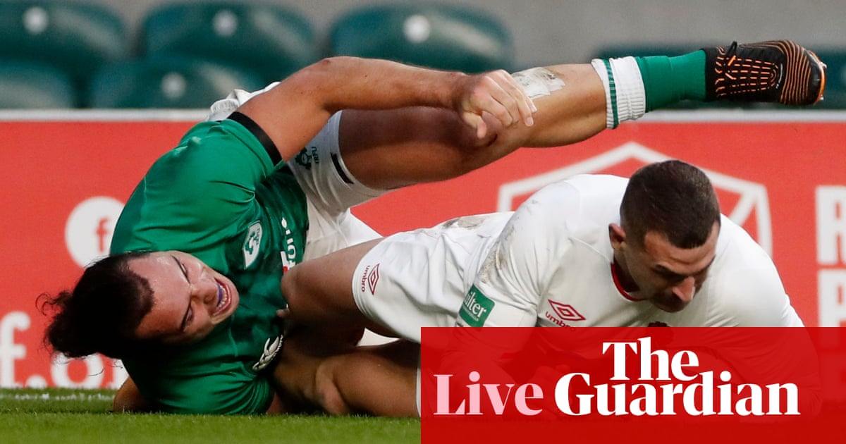 England v Ireland: Autumn Nations Cup – live!