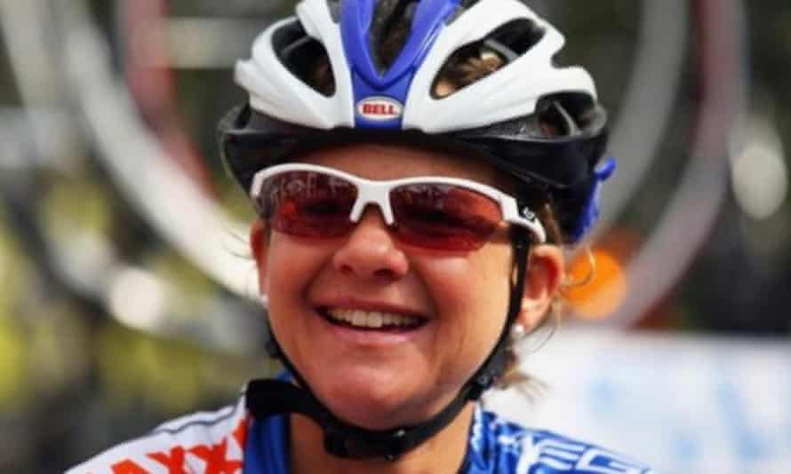 Sharon Laws was a professional racer for almost a decade.