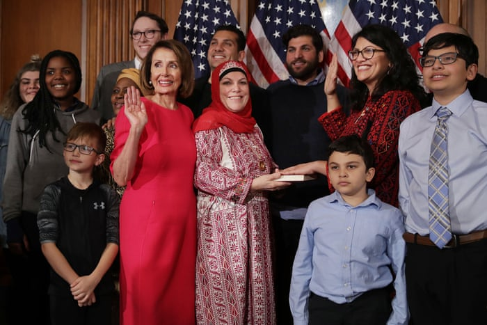 New members sworn in to most diverse Congress ever – in