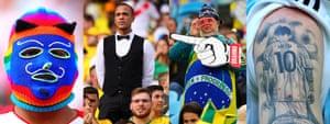 Fans enjoy the Copa América