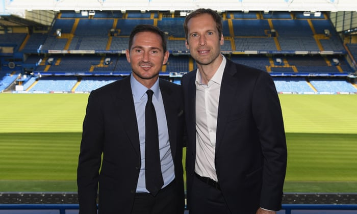 Petr Cech: 'Frank Lampard sets the tone – he has done a remarkable ...