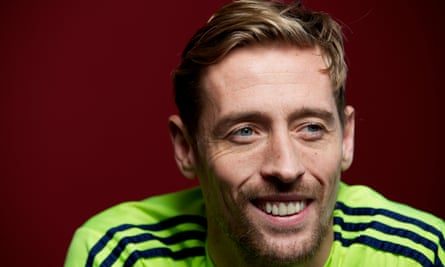 Peter Crouch: 'I don't see my job as work.'