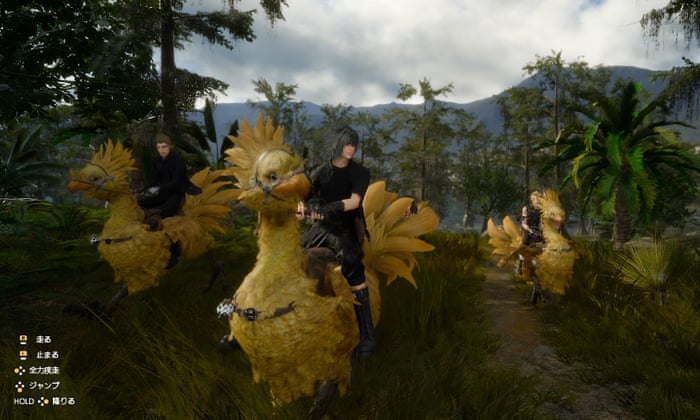 I have been waiting for Final Fantasy XV my whole life
