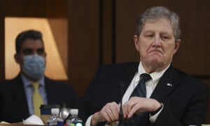 Senator John Neely Kennedy delivers his opening statement during the confirmation hearing of judge Amy Coney Barrett.