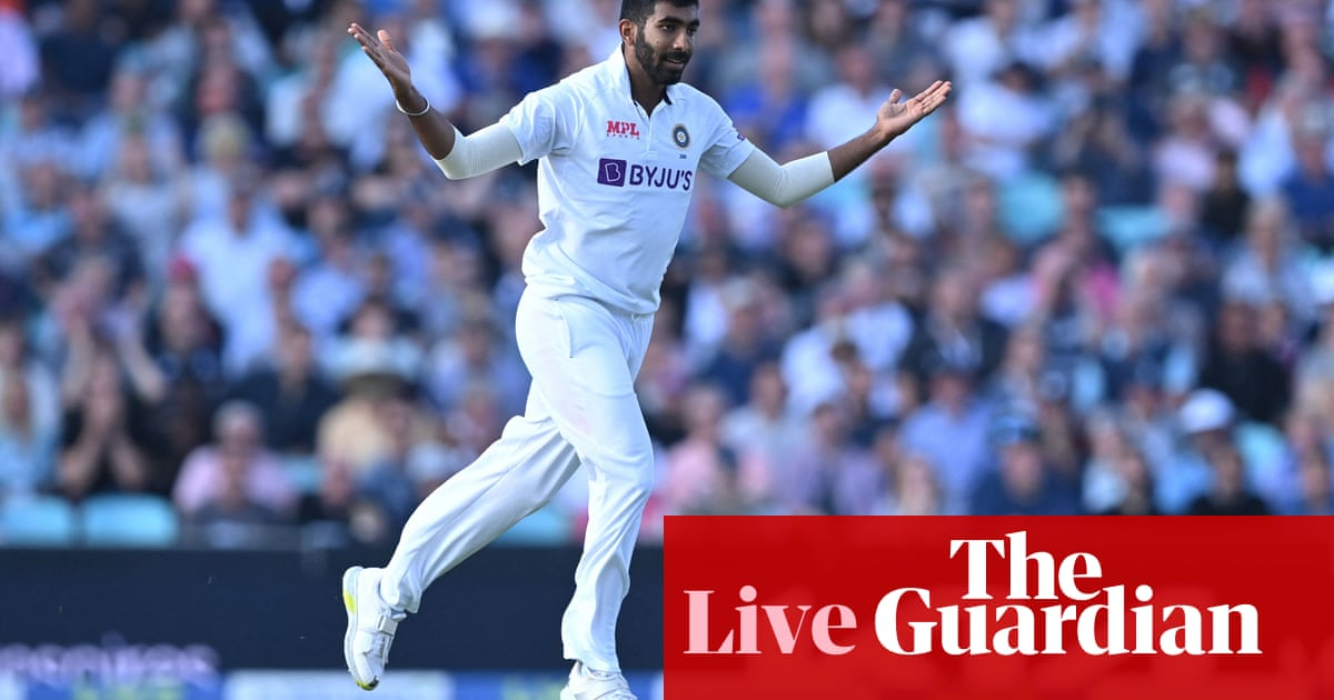 England v India: fourth Test, day two – live!