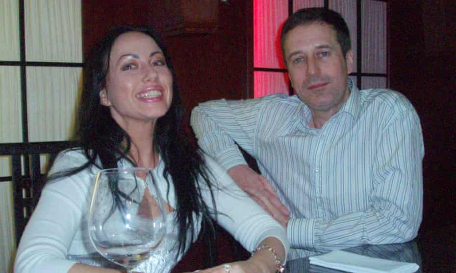 Ganna Ziuzina and Barry Pring in 2006.
