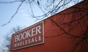 a branch of Booker wholesale food store in south London