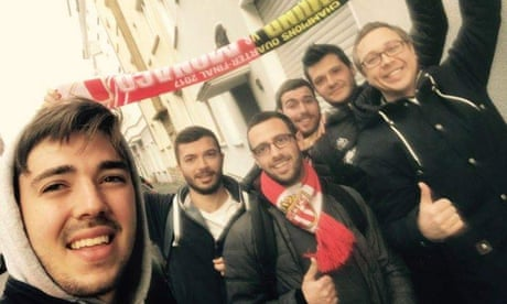 'We aren't rivals but friends': Dortmund fans open homes to Monaco supporters