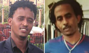 Medhany Tesfamariam Berhe (left) says he was mistaken for Medhanie Yehdego Mered (right)