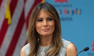 Melania Trump said James appeared to be doing 'good things on behalf of our next generation'.