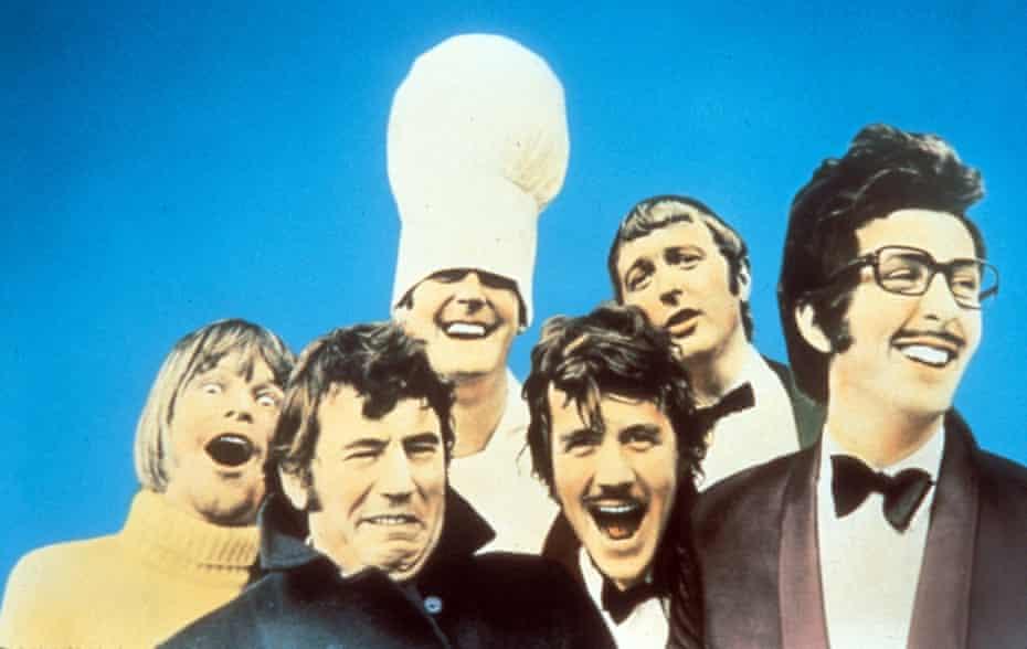 Trail-blazers … Monty Python.