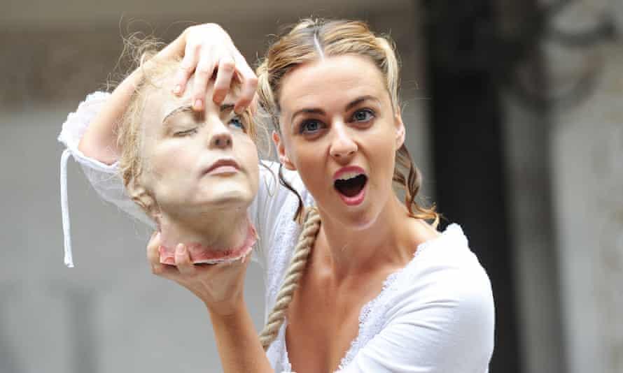 Miranda Raison as the lead in Anne Boleyn.