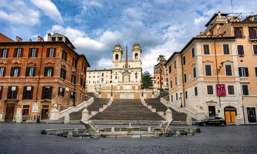 A deserted Rome