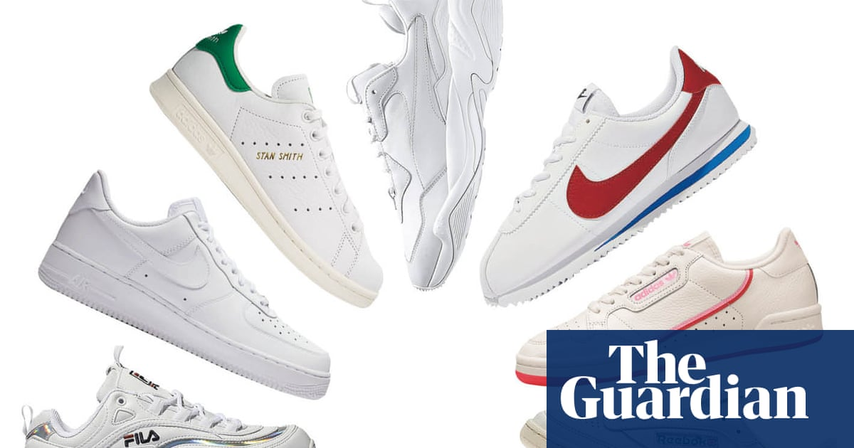 sale retailer bb8a7 d61e0  It connects first ladies with rap stars   why the white trainer defined  the decade   Fashion   The Guardian