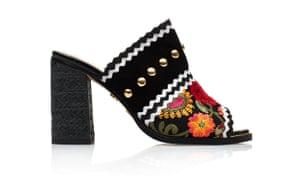 Sandals, £120, by Kurt Geiger.