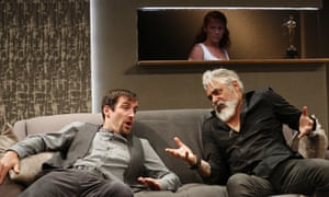 Robert Jack, Darrell Silva and Lucianne McEvoy star in Ulster American by David Ireland at the Traverse