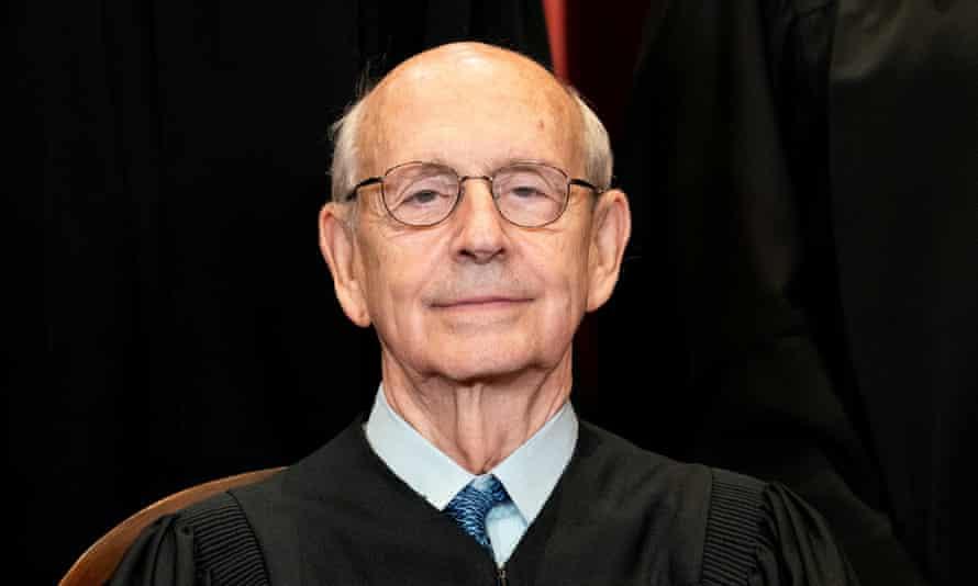 Stephen Breyer, seen in April.