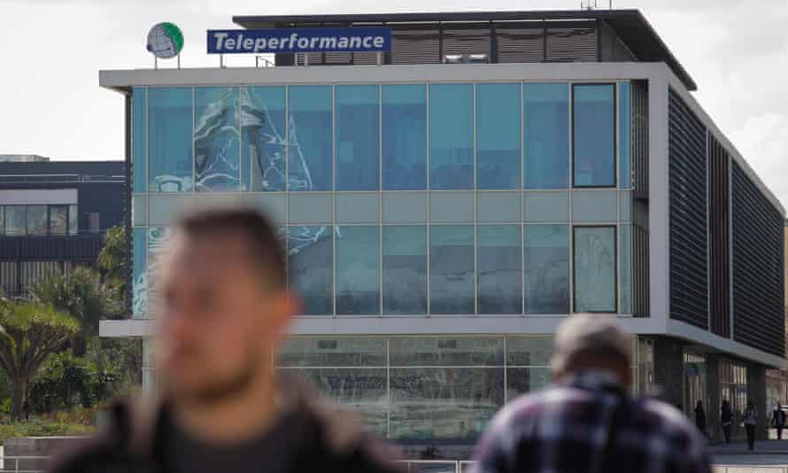 A Teleperformance office in Lisbon, Portugal
