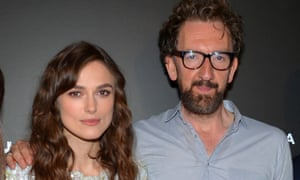 Keira Knightley and John Carney in happier times.