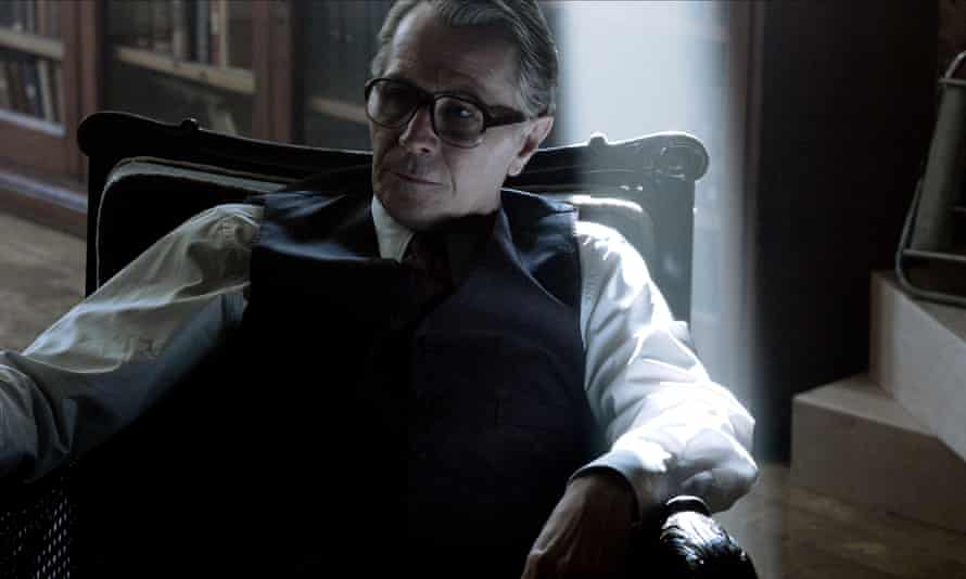 Gary Oldman as George Smiley in the 2011 Tinker Tailor Soldier Spy