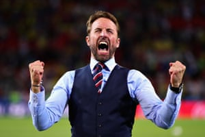 Gareth Southgate after the penalties.