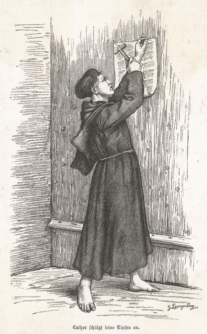 Decorating martin luther church door photos : Why we need a 21st-century Martin Luther to challenge the church ...