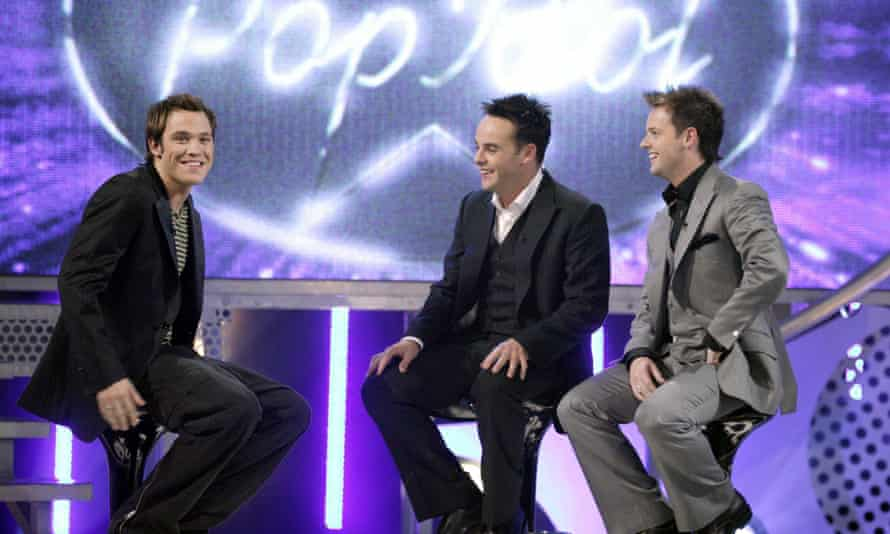 With Ant and Dec in 2003.