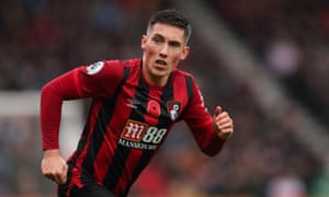 Harry Wilson playing for Bournemouth