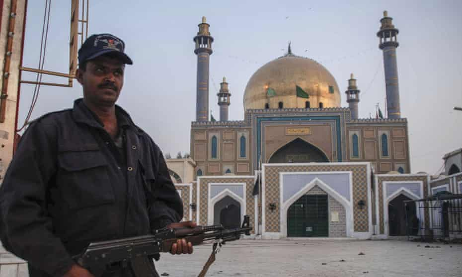 The Sehwan Sharif shrine, the day after a suicide bomb attack that killed nearly 90 people.