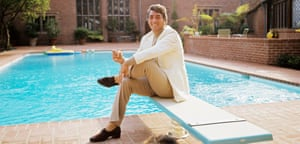 Dean Martin, American singer, film actor and comedian, photographed at home in California in October 1974