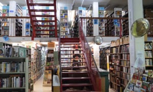 Gould's book store in Sydney, Australia. Photo by Josh Wall for the Guardian.