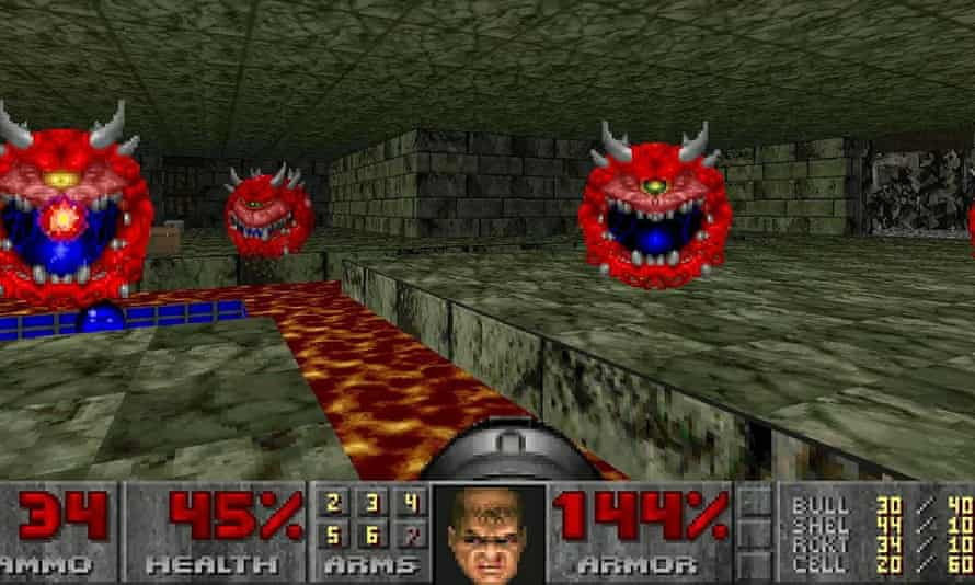Doom ... unashamedly abstract and filled with secrets.