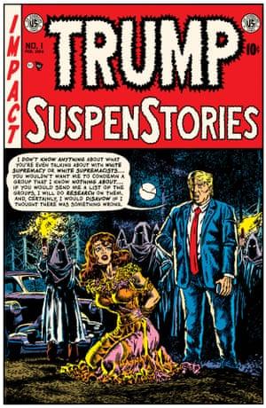 Wally Wood cover, Shock SuspenStories #6, EC Comics, December 1952-January 1953