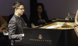 Open to the idea of serendipitous commentary: Vijay Iyer plays the Met Breuer opening.
