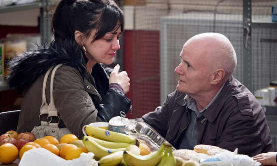 A scene from I, Daniel Blake. 'I was so grateful to the food bank,' said one Guardian commenter