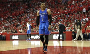 Russell Westbrook averaged a triple-double over the regular season