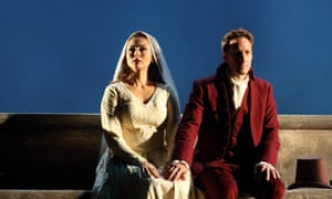 Leonard as Charlotte with Jacques Imbrailo as Albert.