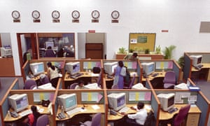A legitimate call centre in Bangalore.