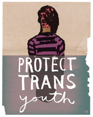 Protect Trans Youth by Lauren Simkin Berke, from the book Posters for Change