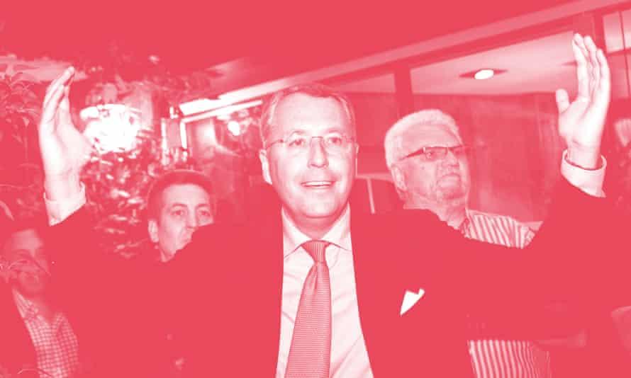 Mischaël Modrikamen, the Movement's managing director.